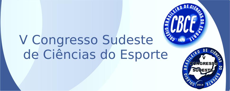 V Congresso Sudeste de Ciências do Esporte
